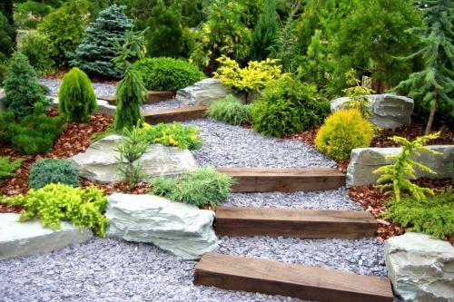 Как создать сад в эко стиле